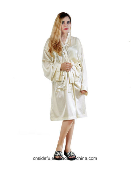 33698f03df China Wholesale Custom Dressing Gown Satin Silk Kimono Robe Bathrobe ...
