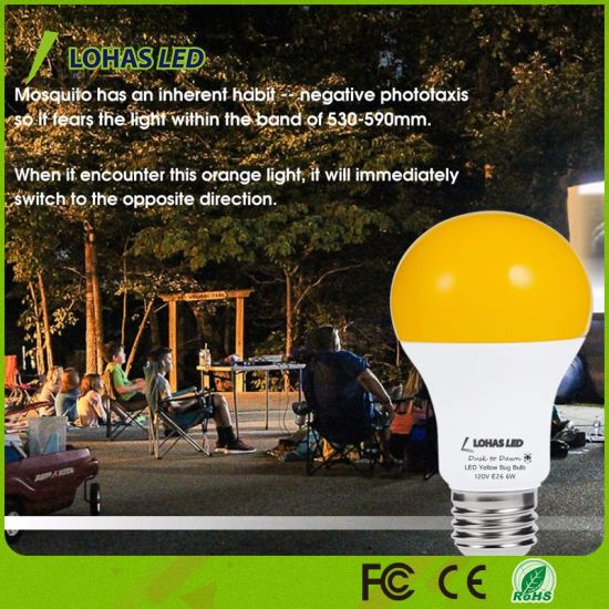 A19 6W Sensor LED Bulb for Mosquito Repellent pictures & photos