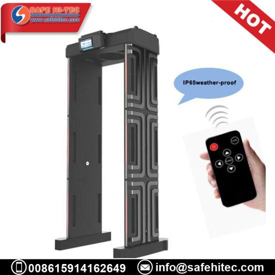 China Security Portable Waterproof IP65 Door Frame Walk Through ...