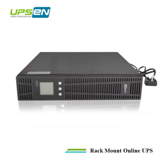 Intelligent Online Rack Mount UPS Single Phase LCD Display 2u/3u