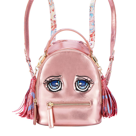 Cartoon Face Design Backpack Girl′s School Bag pictures & photos
