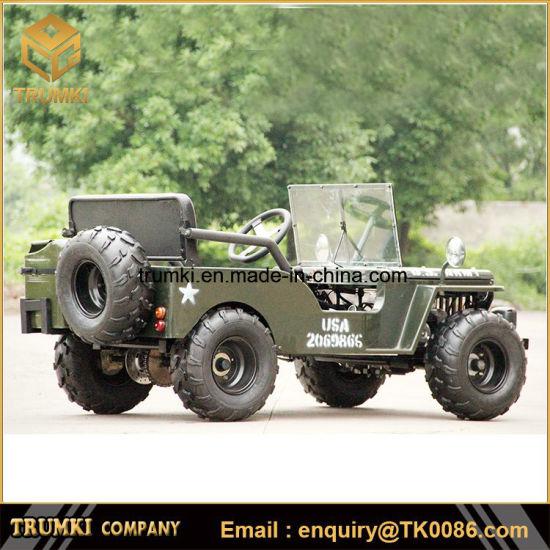 China ATV For Sale Price Mini Jeep 150cc Willys Jeep Go
