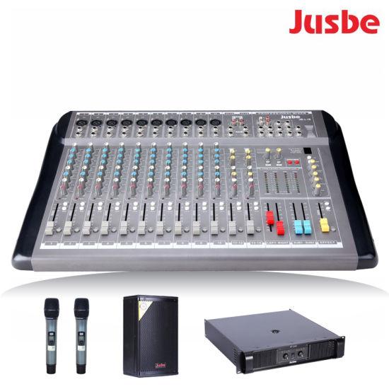 Jb-L16 Studiomaster Two Aux Output Portable PRO Audio Mixer 16 Channel  Audio Interface DJ Mixer with USB