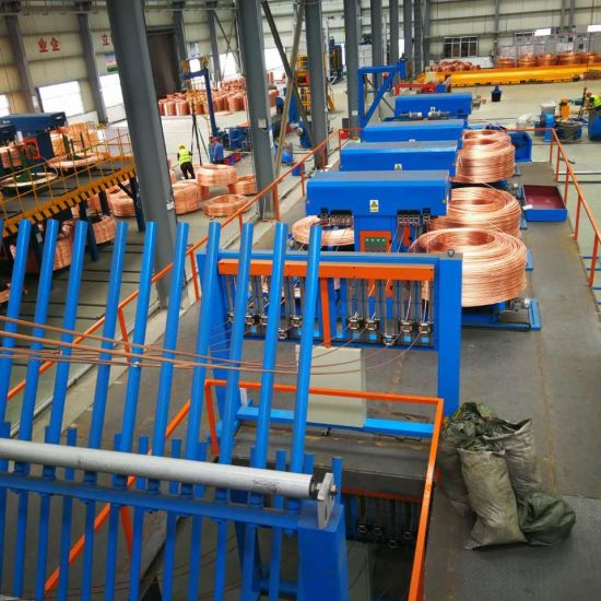 Copper Rod Continuous Casting and Rolling Cable Making Machinery