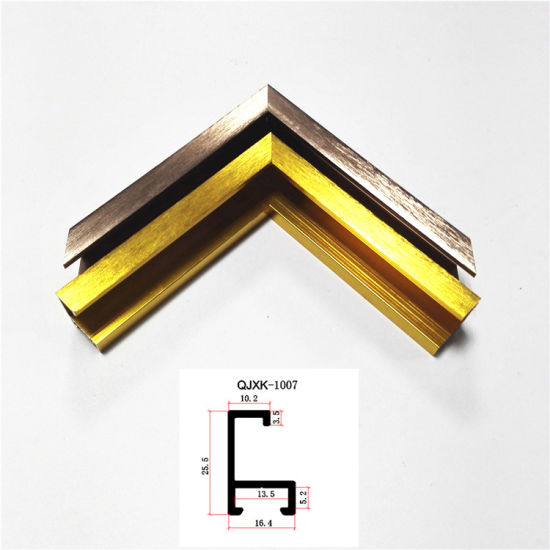 China Custom Metal Frame Moulding with Aluminum Profile From Foshan ...