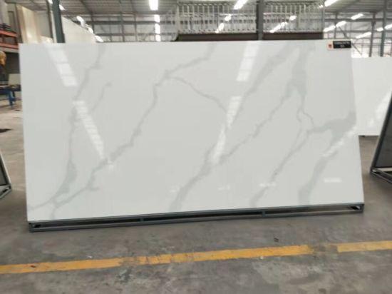Pure White Artificial Quartz Stone
