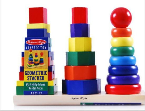 Classic Educational Wooden Montessori Manipulation Toy