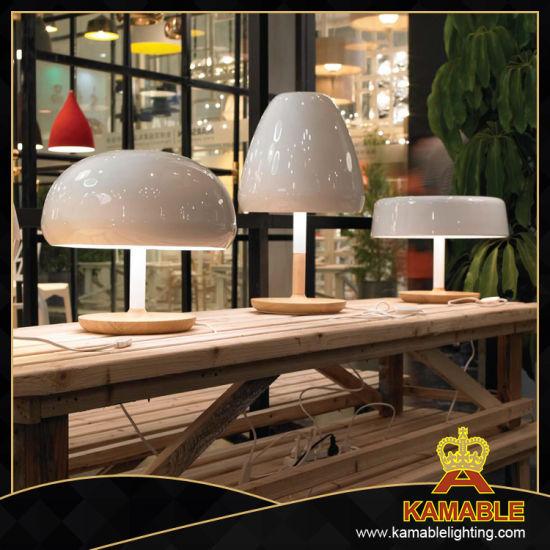 Modern Decorative Wood Table Lamp E27 (MT21110-1S-380)