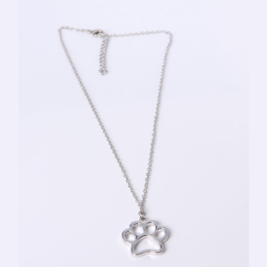 2018 Year Fashion Jewelry Alloy Dog Claw Pendant Necklace