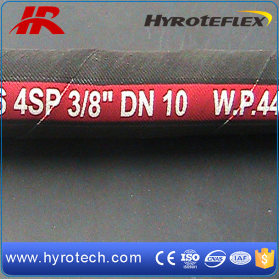 Hydraulic Hose Rubber DIN EN 856 4SP