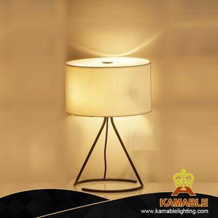 Modern White Painted Table Lamp Light