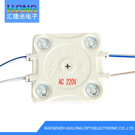 AC220V/110V High Power LED Module with Lensce RoHS Injection LED Module 3 Years Warrant