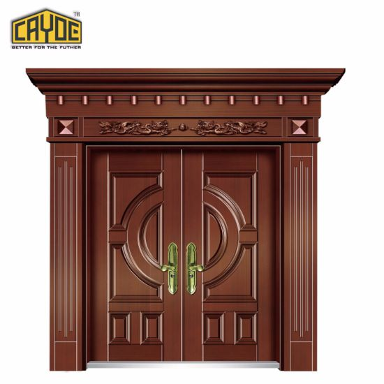 China Main Entrance Doors Design Copper Door Designs China