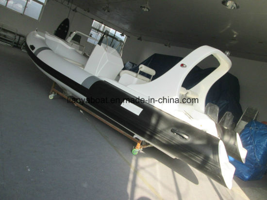 China Liya 19ft Steering Wheel Inflatable Boat China Rigid Tender