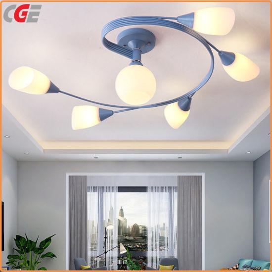 China Led Simple Modern Bedroom Ceiling Light Chandelier Modern