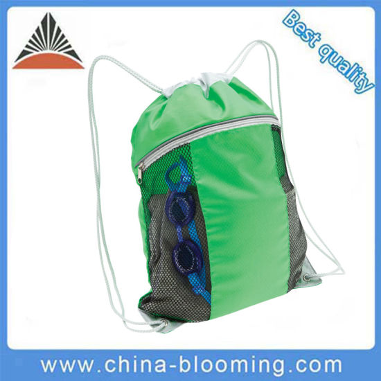 1fff879e9b China Outdoor Swimming Gym Sack Drawstring Shoes Sport Bag - China ...