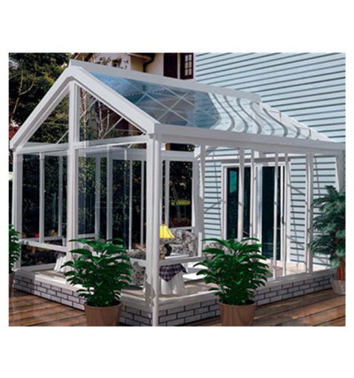 Customized Size Aluminum Frame Double Glazed Lowes Decorating Glass Sunrooms