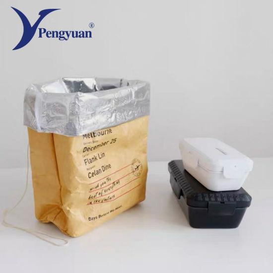 Waterproof DuPont Paper Lunch Bag Thermal Cooler Bag Tyvek Bag Food Packaging Bag