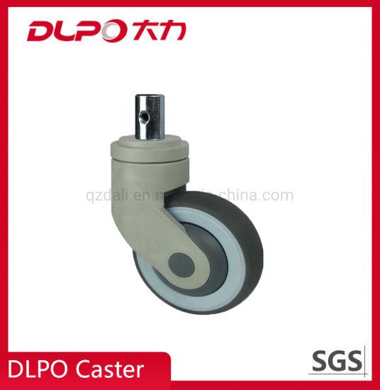 Dlpo M28*45 Solid/Plunger Stem Anti-Static Castor Wheel for Medical Machine