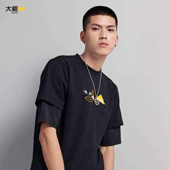 Wholesale Chinese Famous Brand Dakun Unique Design Popular Style T-Shirt