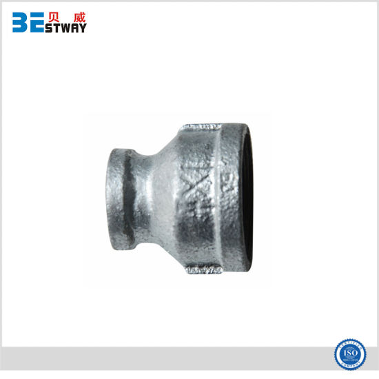 Banded Galvanized Malleable Iron Pipe Fittings Reducing Coupling pictures & photos