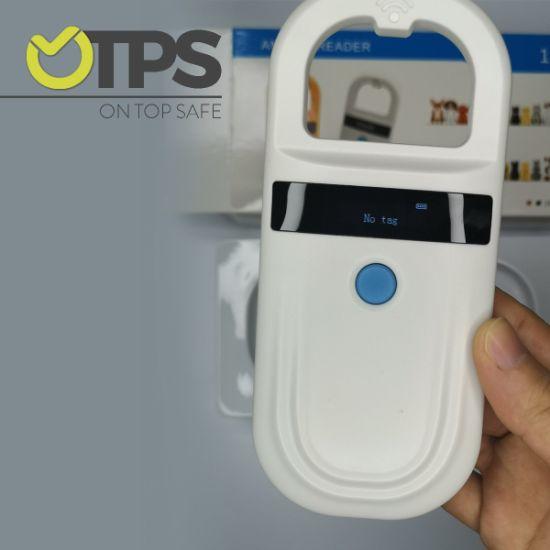 Universal Pet Microchip Scanner Handheld Animal ID Reader Portable RFID Reader