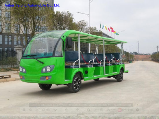 Made in China 17 Seaters Electric Sightseeing Car pictures & photos