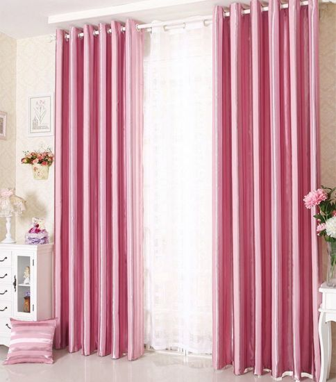 Wholesale Cheap Embossed Blackout Polyester Curtain Fabric