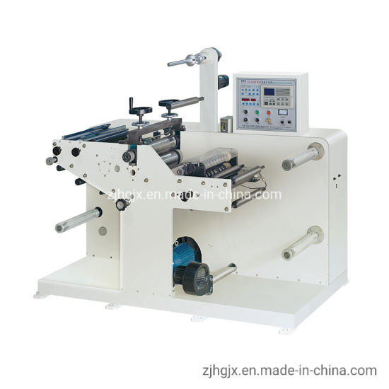 Self-Adhesive Paper Label Roll to Roll Automatic High Speed Rotary Die Cutting Machine for Blank Label