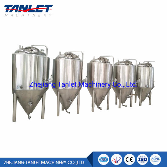 stainless Steel SS304 SS316 Beverage Bright Beer Tank