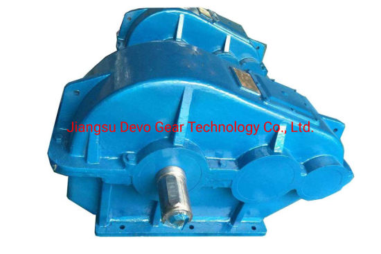 Jzq Series Cylindrical Crane Gearbox for Machinery Transmission