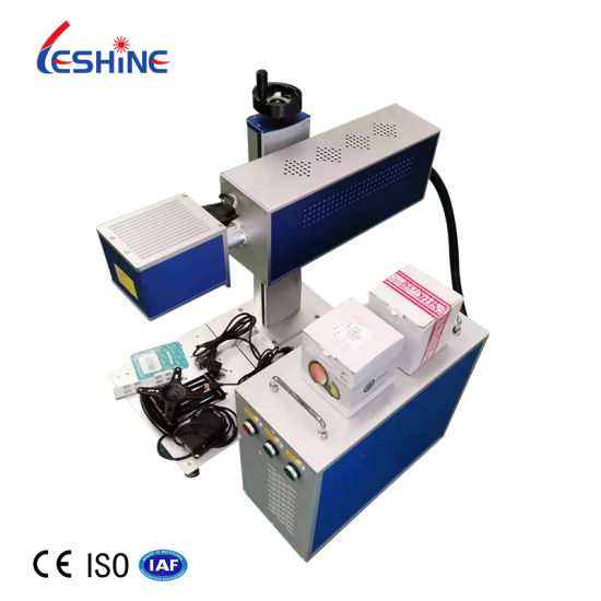 30W 55W 100W CO2 Laser Marking Machine for Plastic Wood Acrylic Leather and Other Non-Metallic Materials