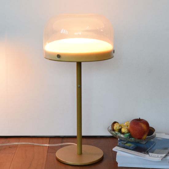 Bright Lighting Standing Lamp Round Morden LED Desk Lamp for Living Room Table Lamp