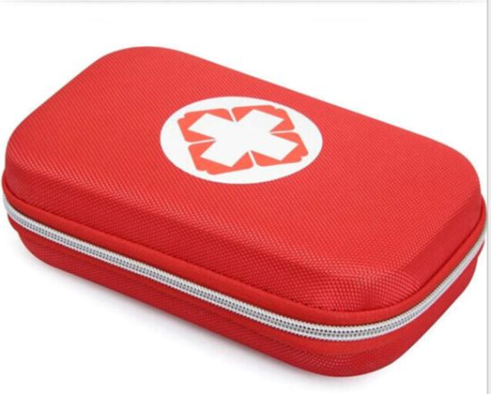Op FDA Ce ISO Approved EVA First Aid Kit Case for Emergency at Home, Outdoors, Car, Camping