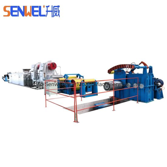 Stainless Steel Metal Coil Continuous Bright Annealing Furnace Product Line