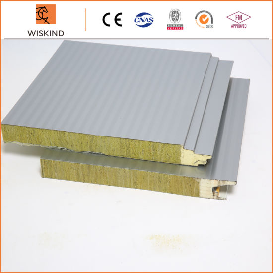 Economic Insulation EPS/PIR/PUR/Rock Wool/PU/Polyurethane Foam Panel for Workshop/Warehouse/Steel Structure