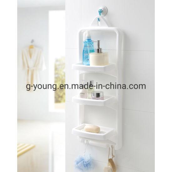 Multi Function Shower Shelf Rack, Plastic Shelves For Bathroom