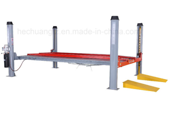 High Quality Alignment Car Lift Ramps Four Post Lift