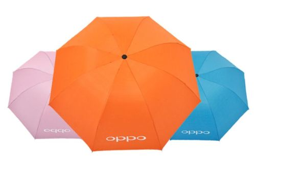 Manual Fold Waterproof Umbella Travel UV Protection Gift Promotion Umbrella pictures & photos