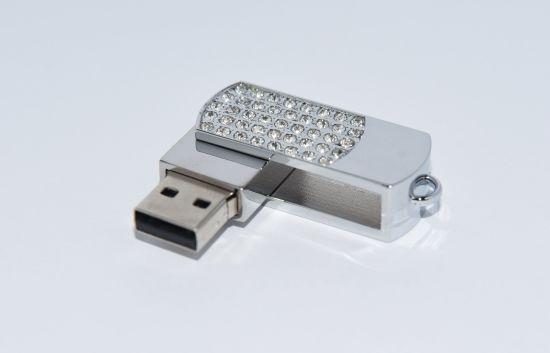 USB Flash Metal Material High Capacity 100% Real Capacity