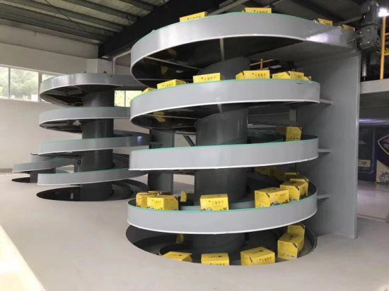 Adjustable Stainless Steel Spiral Belt Conveyor