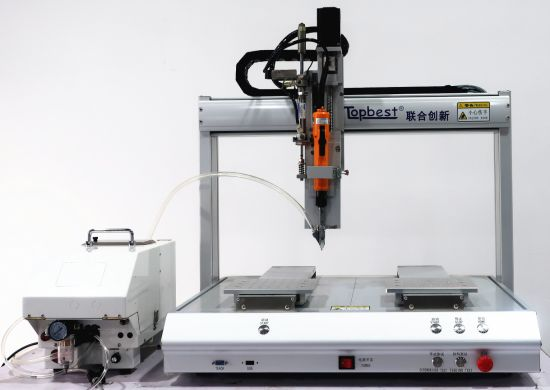 Desktop 4-Axis Blow-Type Single Head Double Y Automatic Screw Fastening System/Tightening Robot/Fastening Robot/Locking Robot/Auto Fastening Machine