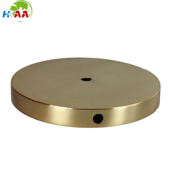 CNC Turning Machining Brass Table LED Lamp Base OEM Customized Service pictures & photos