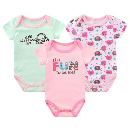 b61fec2f0cba Summer Soft Toddler Wholesale Wears Newborn Cotton Clothes Clothing Baby  Romper Set