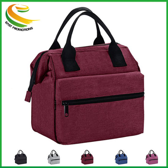Large Insulated Lunch Bag Square