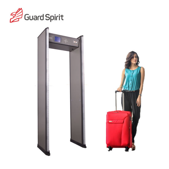 24 Zones Waterproof PVC Metal Detector Door for Security pictures & photos