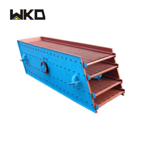 High Frequency Mining Double Deck Vibrating Screen for Quartz Sand
