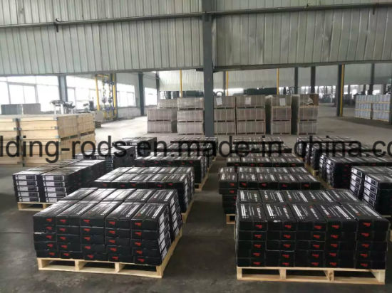 Storage commercial welding metal electrodes, except stainless