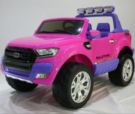 e2b08cda629 2018 New Ford Ranger Licensed Big Kids 24V Electric Ride on Car Toy with 2  Seats