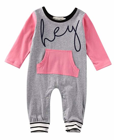 Toddler Apparel Girls Funny Saying Rompers Toddler Footless Coveralls Jumpsuit Children Clothes